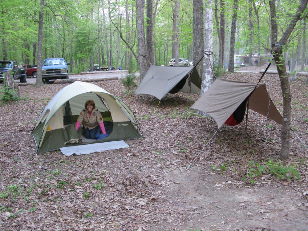 Two Nights In Rain With Scouts